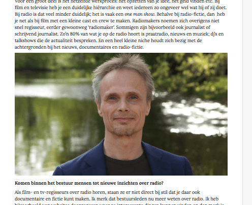 Interview Dutch Directors Guild (DDG)